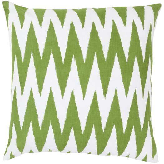 Surya Eye Catching Chevron Throw Pillow