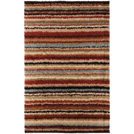 Surya Concepts Red Area Rug
