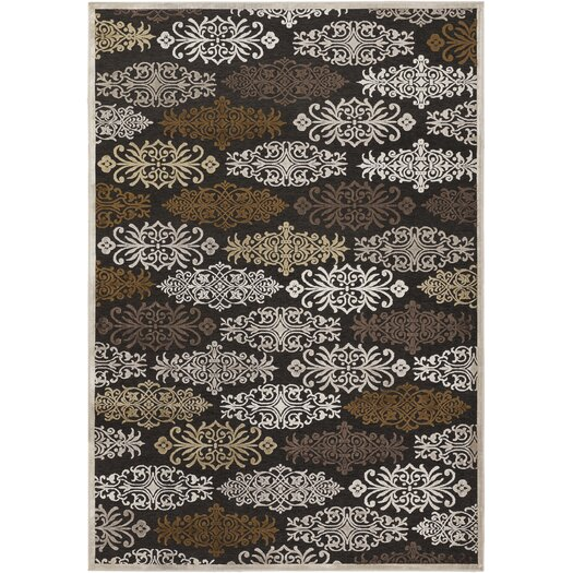 Surya Basilica Chocolate/Brown Area Rug