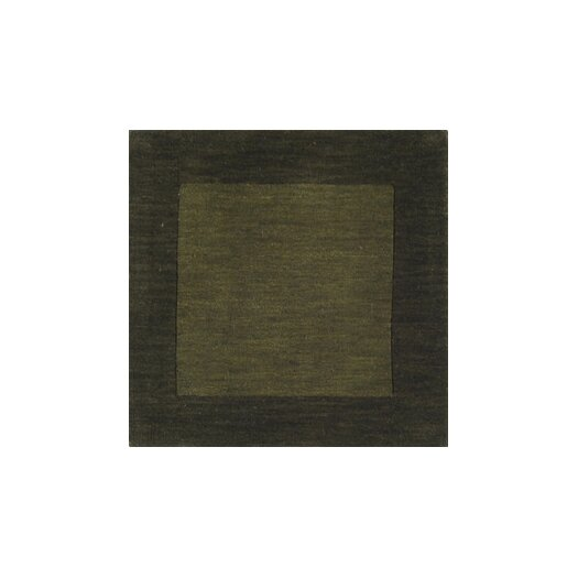 Surya Mystique Dark Green Border Area Rug