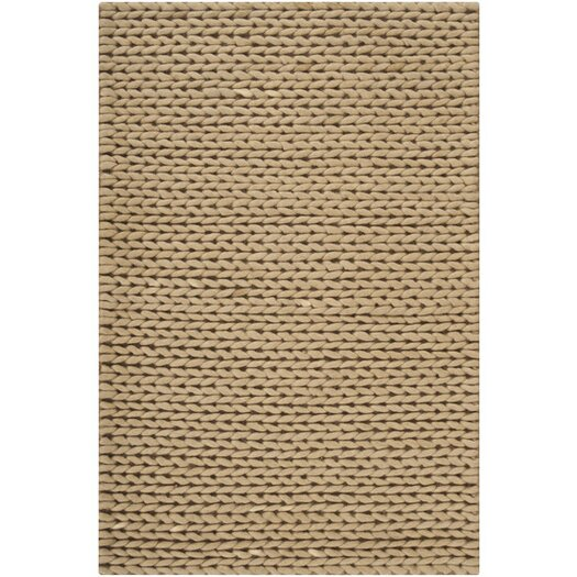 Surya Fargo Tan Solid Area Rug