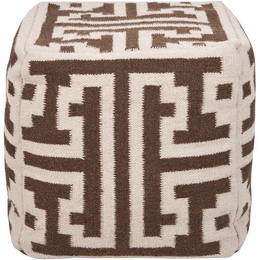 Surya Pouf Cube Ottoman