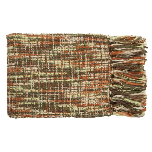 Surya Tabitha Acrylic Throw Blanket