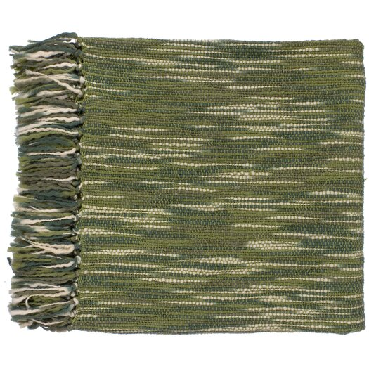 Surya Teegan Throw Blanket