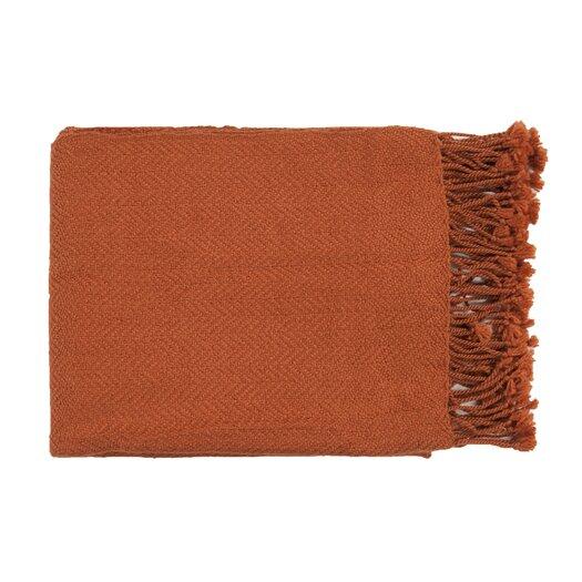 Surya Turner Throw Blanket