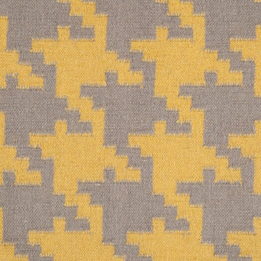 Surya Frontier Elephant Gray/Quince Yellow Area Rug