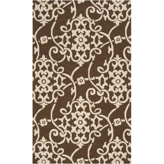 Surya Rain Coffee Bean Outdoor Rug