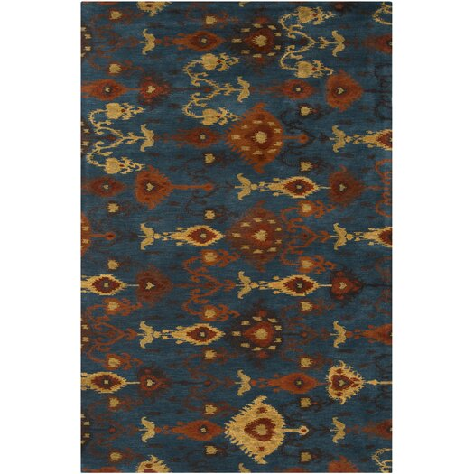 Surya Surroundings Teal Rug