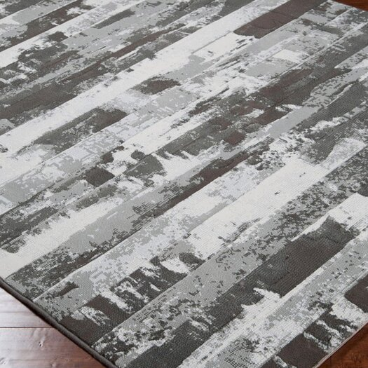 Surya Contempo Gray Stripes Area Rug