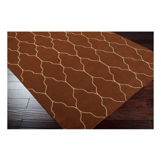 Surya Gates Olive/Ivory Geometric Area Rug