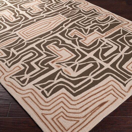 Surya Labrinth Mocha Outdoor Rug