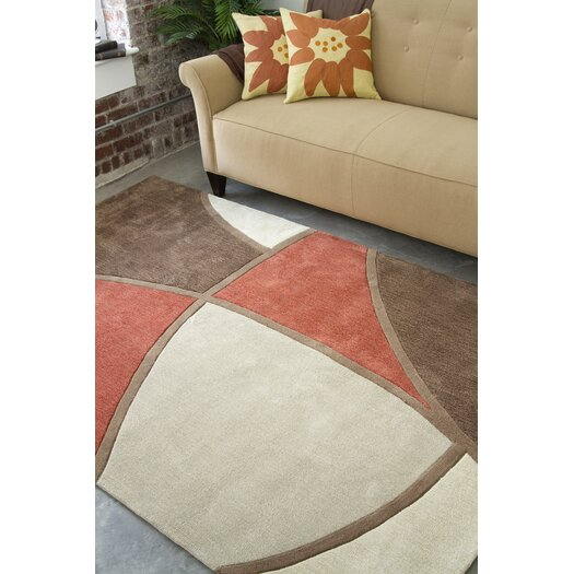 Surya Cosmopolitan Brown/Rust Rug