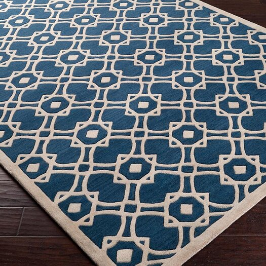 Surya Goa Navy Area Rug