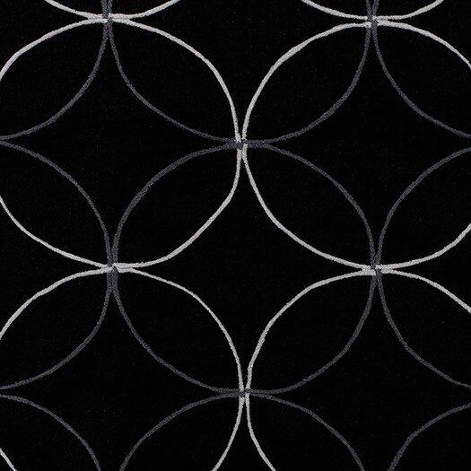 Surya Cosmopolitan Black Area Rug