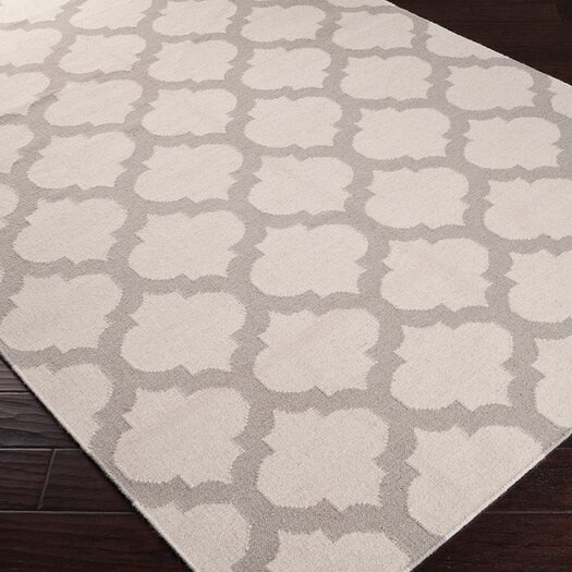 Surya Frontier Oatmeal/White Area Rug
