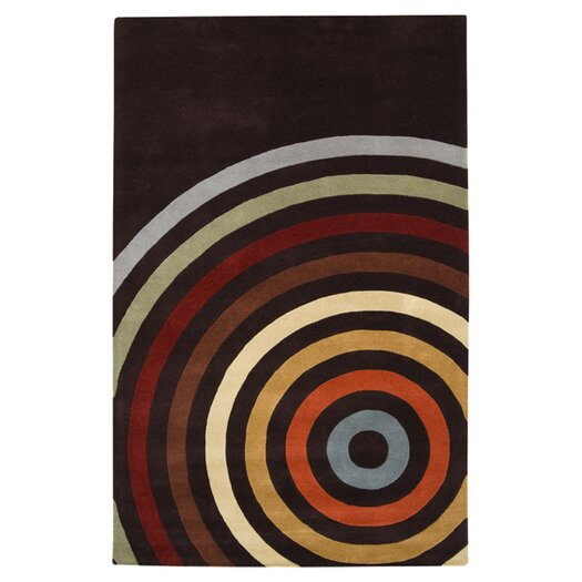 Surya Forum Black Area Rug