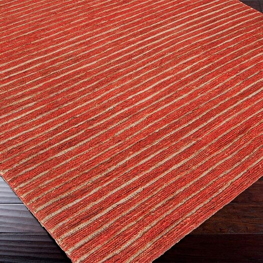 Surya Dominican Rust Red/Blond Area Rug