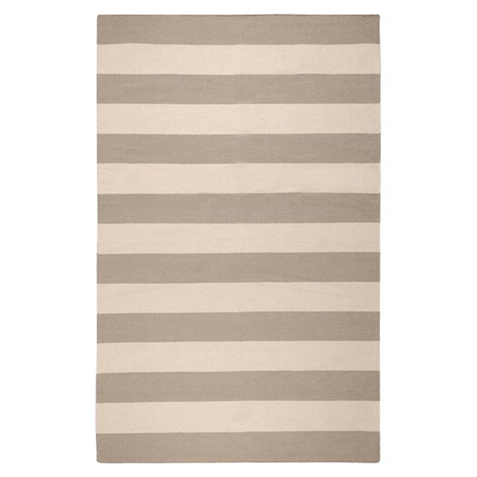 Surya Frontier Gray Striped Area Rug