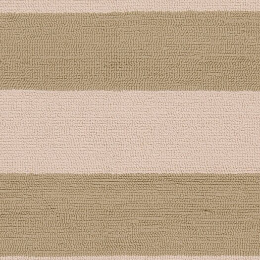 Surya Rain Parchment/Sage Green Stripe Indoor/Outdoor Rug