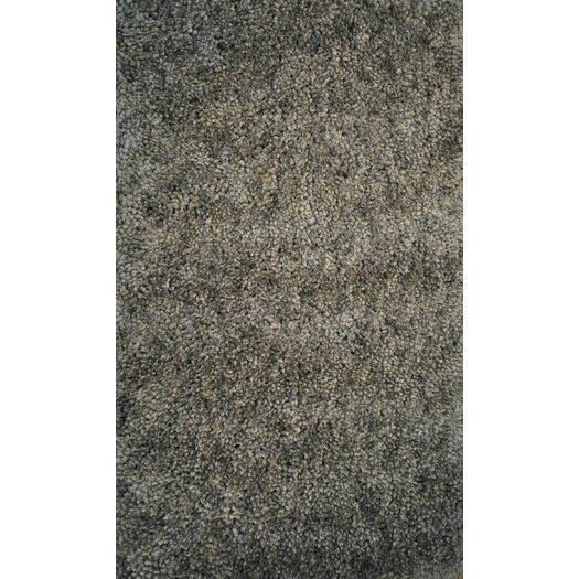 Dynamic Rugs Luxury Shag Dark Gray Area Rug
