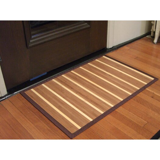 Anji Mountain Bamboo Rugs Premier Ladder Area Rug