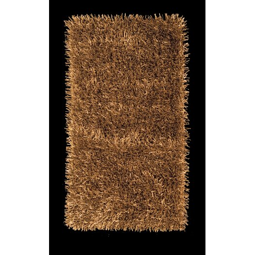 Foreign Accents Elementz Fettuccine Gold Area Rug