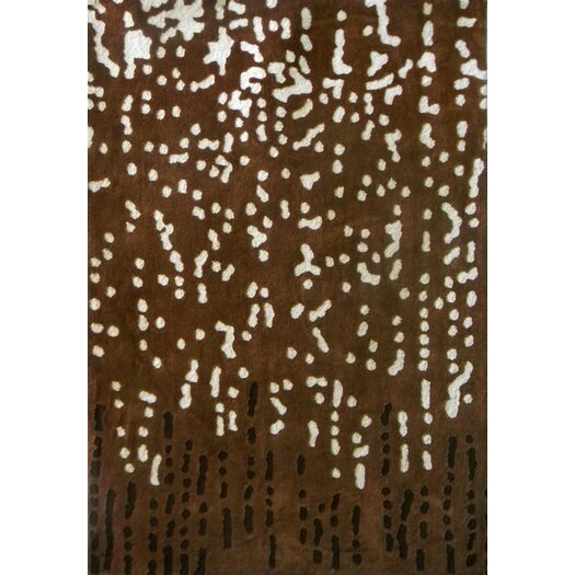 Foreign Accents Festival Chocolate Area Rug