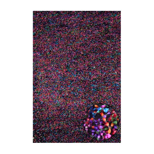 Foreign Accents Elementz Starburst Rainbow Area Rug