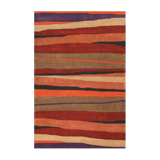 Foreign Accents Festival Stripe Area Rug