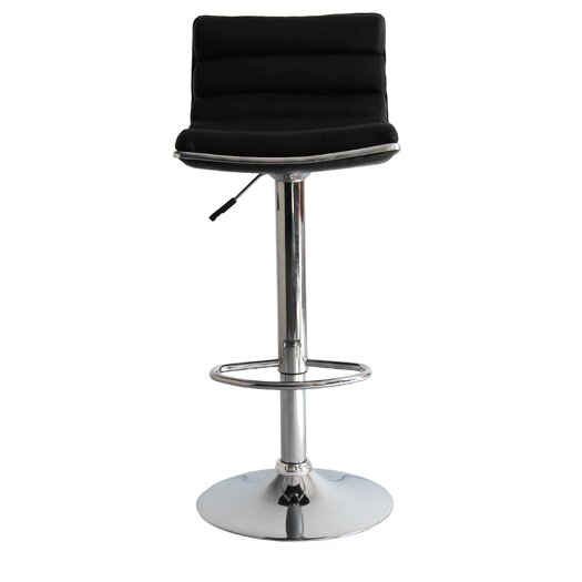 Linder Adjustable Height Swivel Bar Stool