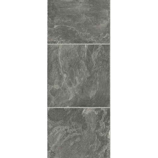 Armstrong Stones & Ceramics 8.3 mm Tile Laminate in Slate Pebble Dust
