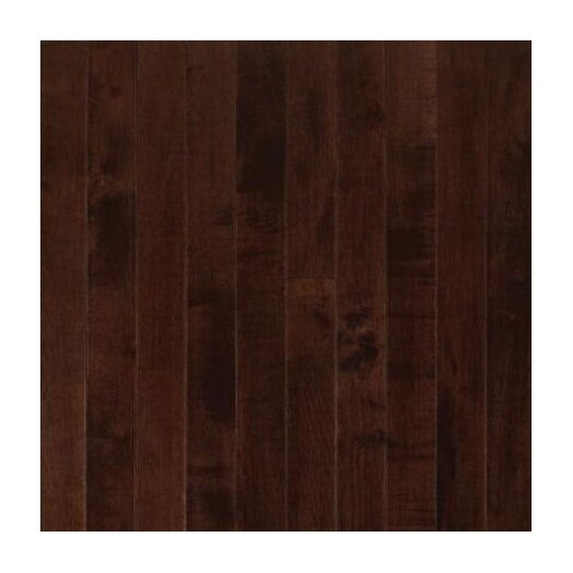 "Armstrong Sugar Creek Plank 3-1/4"" Solid Maple Flooring in Cocoa Brown"
