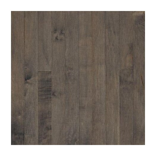 "Armstrong Sugar Creek 3-1/4"" Solid Maple Flooring in Pewter"