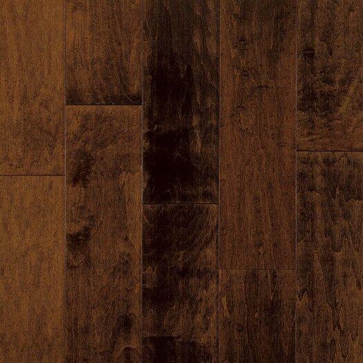 "Armstrong Artesian Classics Color Wash 5"" Engineered Maple Flooring in Raisin"