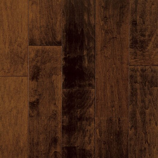 "Armstrong Artesian Classics Color Wash 5"" Engineered Maple Flooring in Raisin"