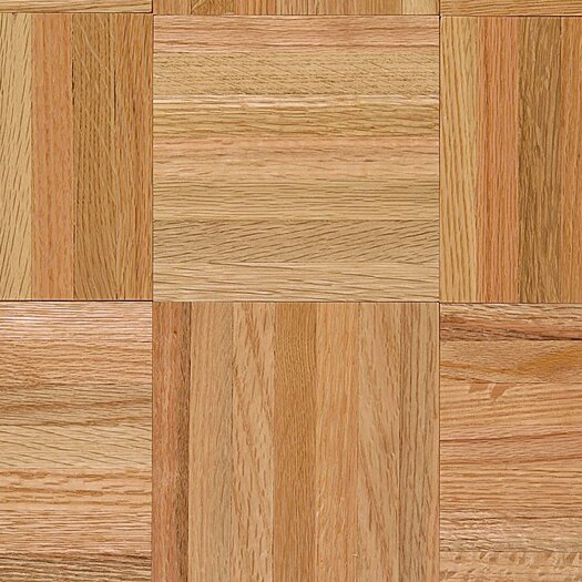 "Armstrong Urethane Parquet 12"" Solid Oak Flooring in Standard"