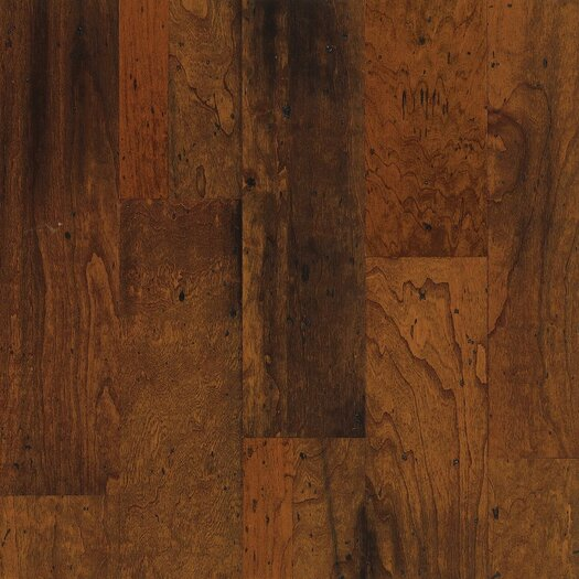 """Armstrong Blackwater Classics 5"""" Engineered Cherry Flooring in Amber Glow"""