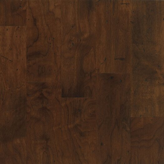 "Armstrong Blackwater Classics 5"" Engineered Walnut Flooring in Vintage Brown"
