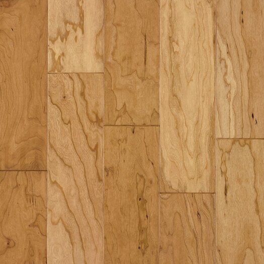 """Armstrong Century Farm Hand-Sculpted 5"""" Engineered Cherry Flooring in Natural"""