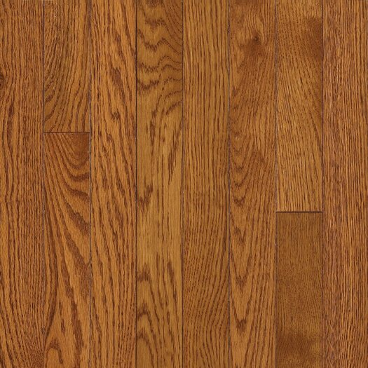 "Armstrong Somerset 2-1/4"" Solid Oak Flooring in Spice Brown"