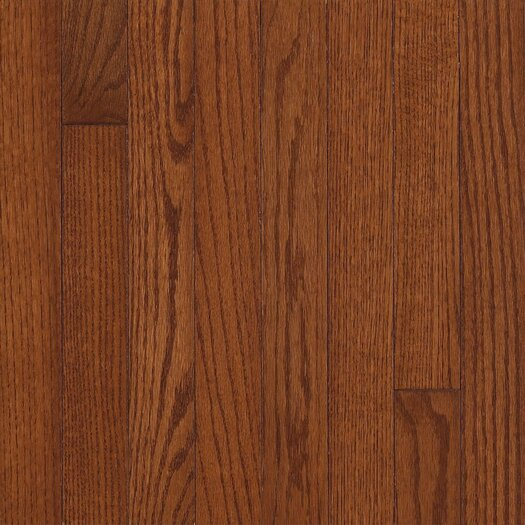 "Armstrong Somerset 2-1/4"" Solid Oak Flooring in Benedictine"