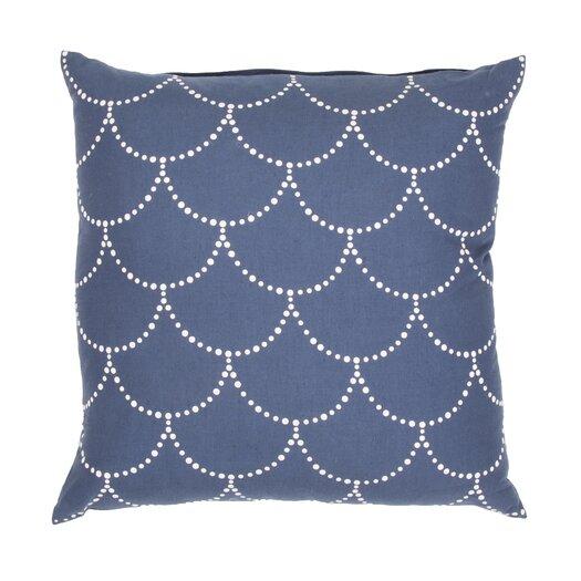 Jaipur Rugs Japiko Handmade Cotton and Flax Pillow