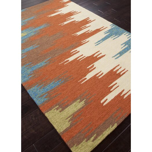 Jaipur Rugs Colours I-O Rust Abstract Indoor/Outdoor Area Rug