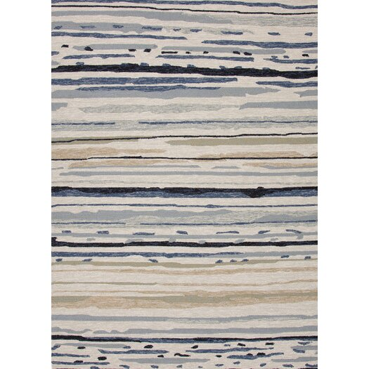 Jaipur Rugs Colours I-O Gray Abstract Indoor/Outdoor Area Rug