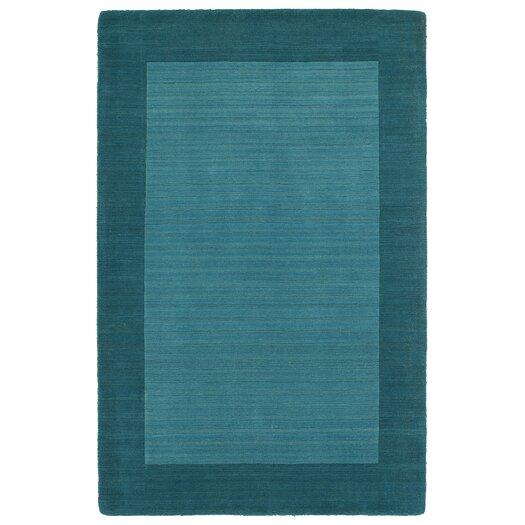 Kaleen Regency Solid Turquoise Area Rug