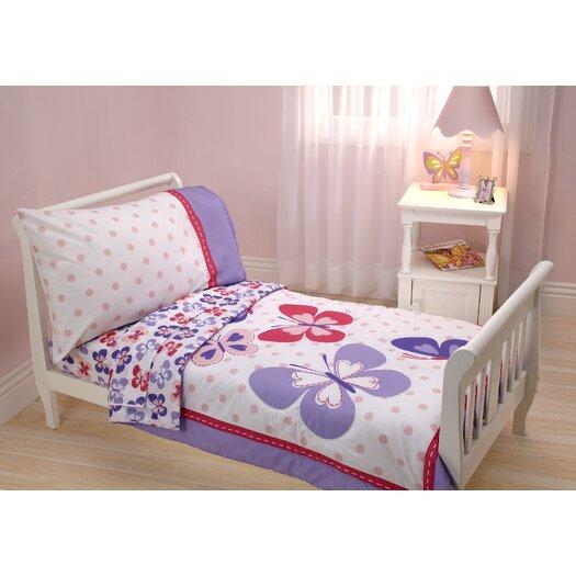Carter's® Butterfly 4 Piece Toddler Bedding Set