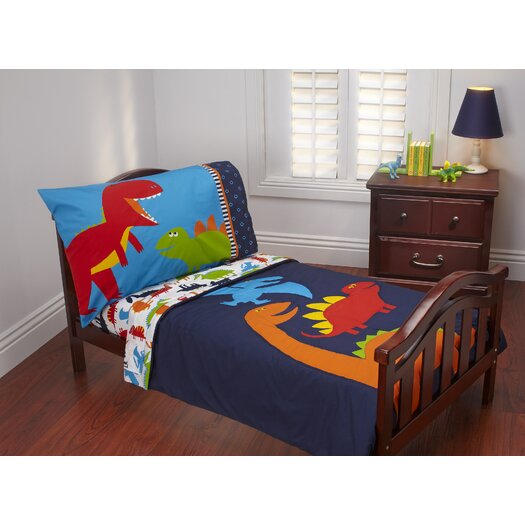 Carter's® Prehistoric Pals 4 Piece Toddler Bedding Set