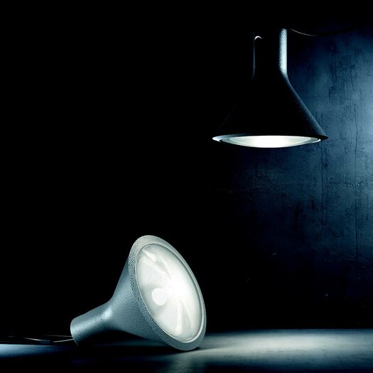 "FontanaArte Yupik 7.89"" H Table Lamp with Bowl Shade"