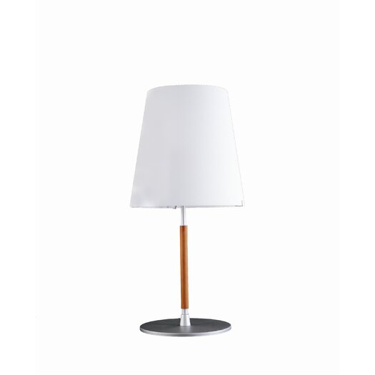 """FontanaArte 18.1"""" H Table Lamp with Empire Shade"""