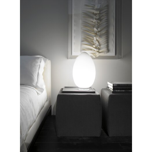 FontanaArte Uovo Table Lamp with Oval Shade